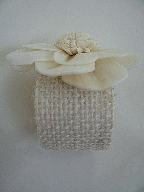IN BLOOM Set of 6 elegant paper flower napkin by houseofpeltier