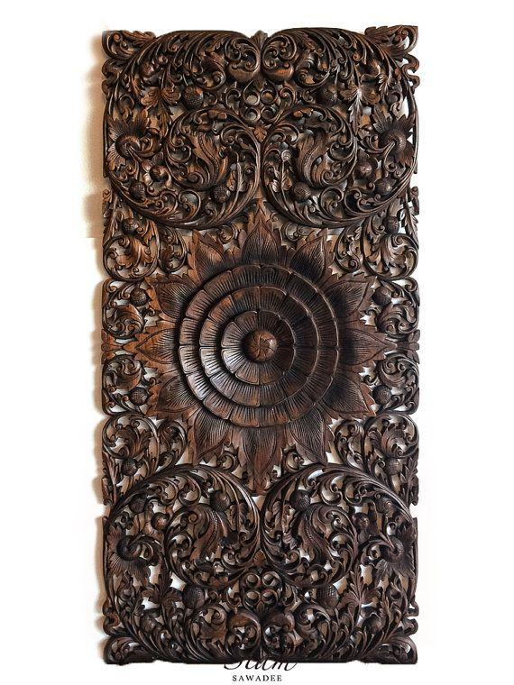 Accept. decorative asian wood