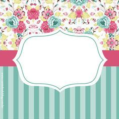 KIT FESTA PRONTA VINTAGE SHABBY GRÁTIS PARA IMPRIMIR - Cantinho do blog Layouts e Templates para Blogger