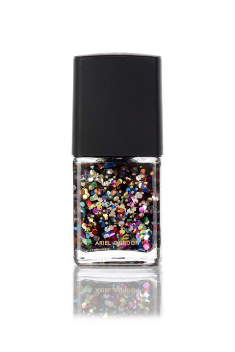 Get party-ready summer nails with this confetti polish from Ariel Gordon in the Candy Crush.