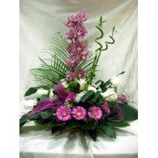 Centro Regalo de Flores Naturales ref 15