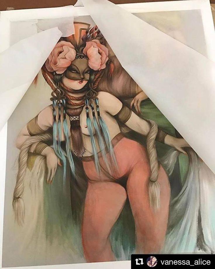 """😍😍😍""""Gorditas De Chicharrón V"""" edición limitada #fineart #giclée de Miss Van impresas en St Cuthberts Mill Somerset Velvet. ℹ️ www.missvan.com/store✨#Repost @vanessa_alice ・・・ Back online ! ✨Gorditas De Chicharrón V ✨missvan.com/store ✨ #missvan #limitededition #gicleeprint #barcelonaquerida ( printed in #barcelona by GraficArtPrints, impresión fine art giclée ) #limitededition #prints #gicleeprints #giclee #artprint #daily_art #fineartprints #giclee #gicleefineprint #somerset…"""