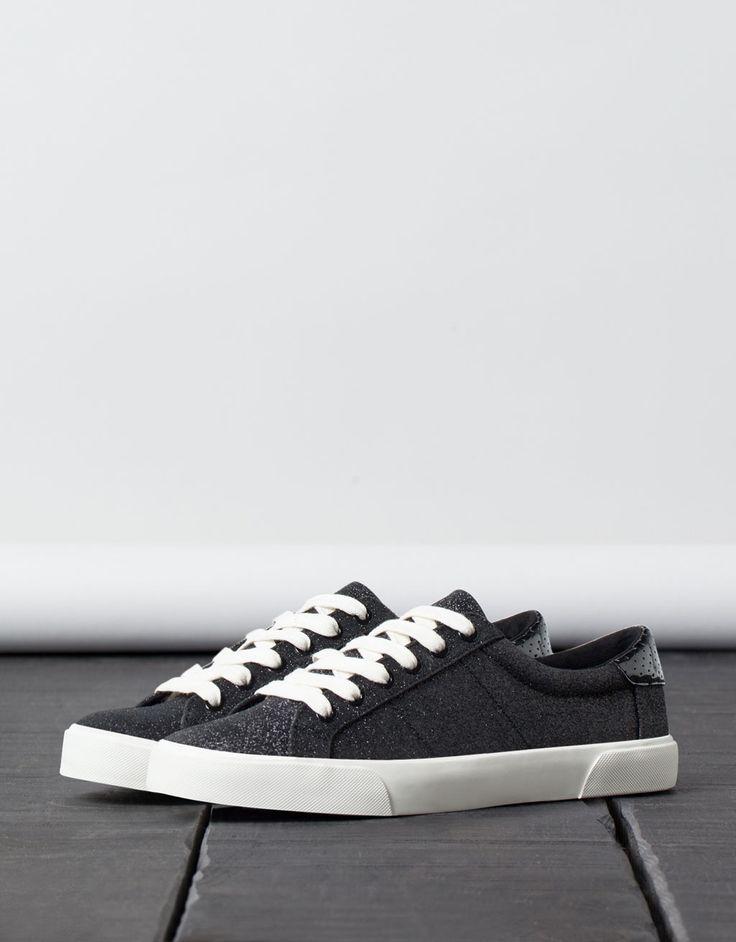 BSK shimmer sneakers - Shoes - Bershka Turkey