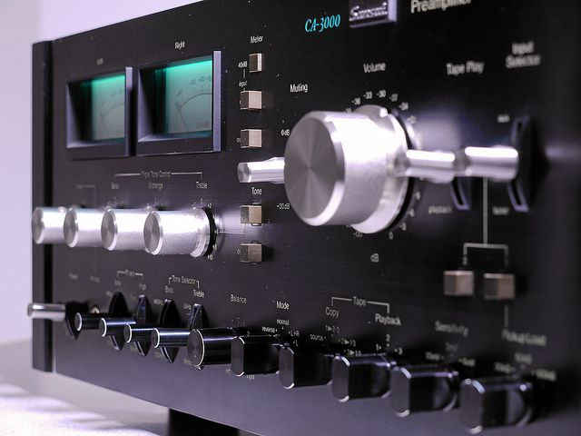 """Sansui CA 3000 Vintage Stereo Preamplifier"" !...  http://about.me/Samissomar"