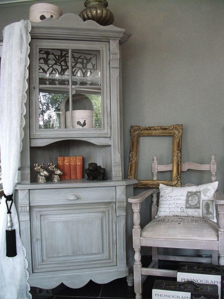 Een hele mooie sfeerfoto gemaakt door Wendy van meubels met Annie Sloan krijtverf
