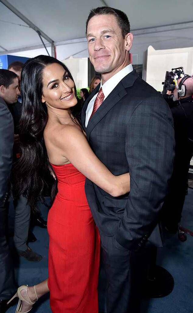 John Cena Enjoys Romantic Date With Shay Shariatzadeh All The Details John Cena And Nikki Nikki Bella John Cena