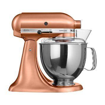KitchenAid 5KSM150 - food processors (Copper, Stainless steel, 50/60 Hz)