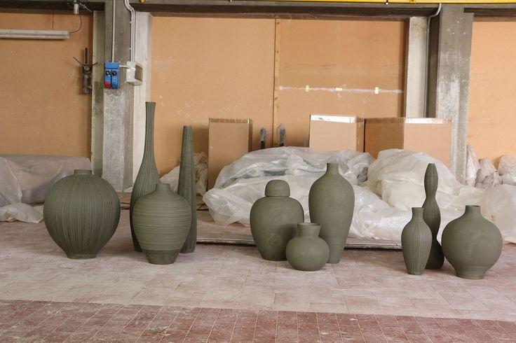 Matteo Thun Atelier, Ceramic Collections, #matteothunatelier #matteothun #handmade #handmadeinitaly #italiandesign #matteothun #artwork #ceramics #tuscany #pottery