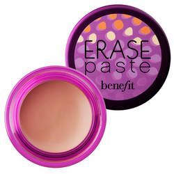 Erase Paste What it is: A brightening camouflage for the eyes and face.  What it does: Benefit Erase Paste is a concentrated, creamy, blendable concealer that instantly brightens and camouflages all-in-one. It has an innovative formula which makes sure signs of stress and fatigue are a thing of the past. These three brightening neutral shades give every gal correction perfection.  What else you need to know: Erase Paste includes a step-by-step concealing and brightening lesson and a handy…