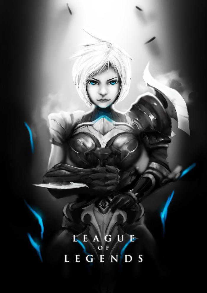 Riven Leauge Of Legends Wallpaper Lol League Of Legends Lol Champions League Of Legends