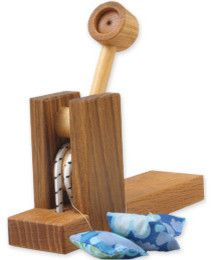 Wood Toy Shop Catapult - traditional - kids toys - Black Wagon