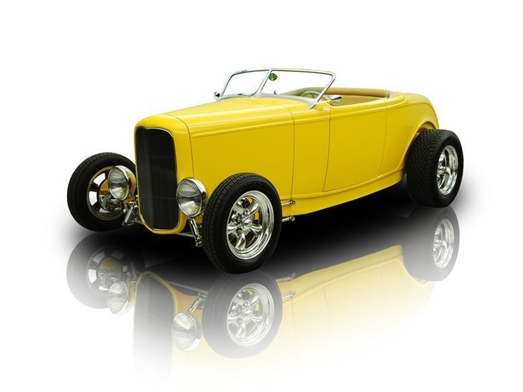 1932 Ford Roadster Hot Rod Muscle Cars Pinterest 1932 Ford And Ford