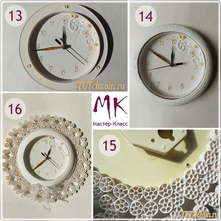 Кухонные часы своими руками