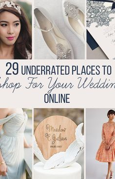 29 Underrated Places To Shop For Your Wedding Online