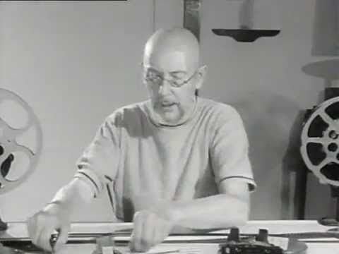 Len Lye explains how to make a scratch film