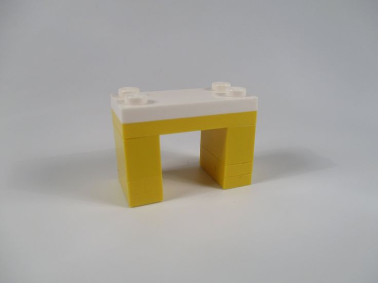 LEGO yellow table