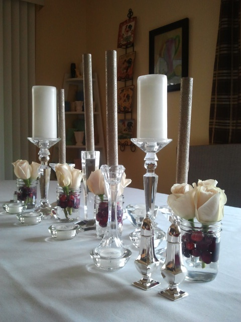 Simple winter centerpiece for the home pinterest