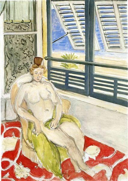 Nude - Matisse Henri