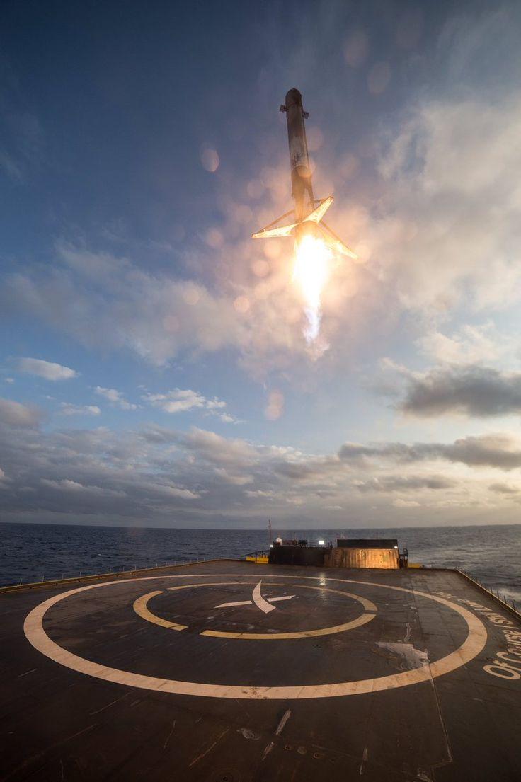 SES-10 landing.