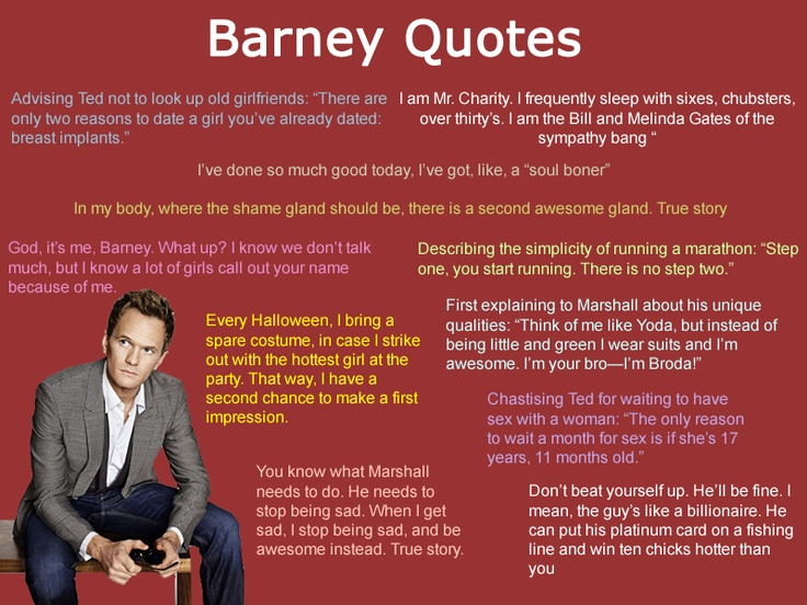 Typical Barney  Barney Stinson Resume Video