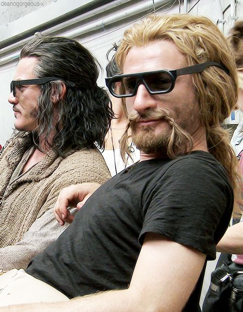 Bard in shades and that *other* guy haha..