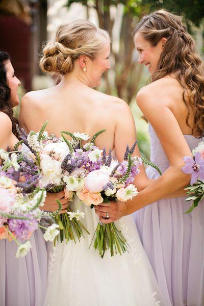 Lavender Texas Wedding by Jennefer Wilson
