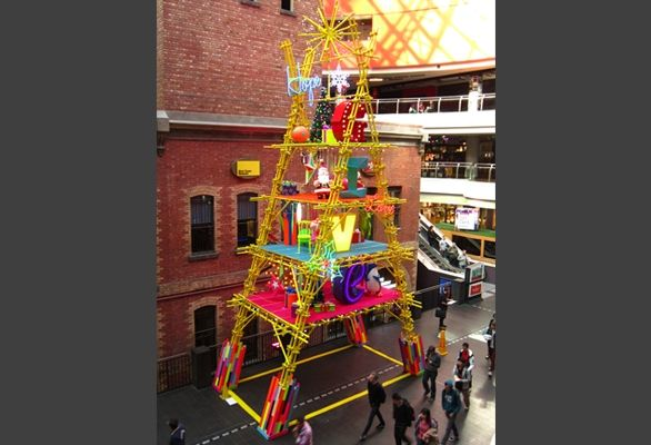 Project Gallery | Chas Clarkson Melbourne Central 2013