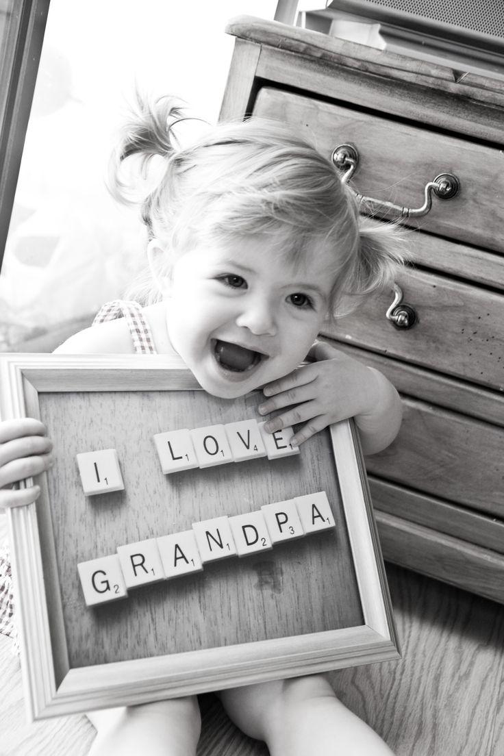 Cute photo idea for grandparents