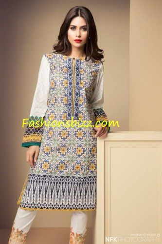Latest Sapphire Lawn Girls Dresses By Khadija Shah 2015.Sapphire by Khadijah Shah Group joined hands for a better experience clothing Pakistani girls and women.