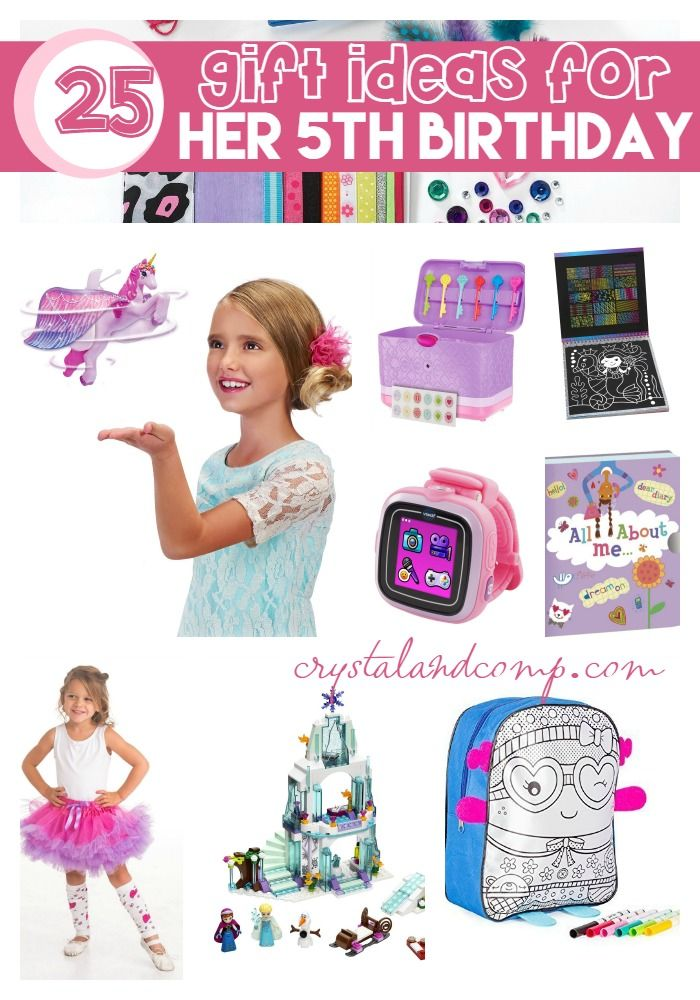 25 Awesome Gift Ideas For Her 5th Birthday Birthday Gifts For