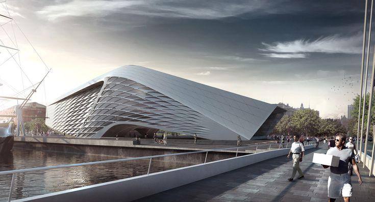 Muzeum Sztuki Współczesnej Puerto Madero w Buenos Aires - OneByNine - Archinea | Nowoczesna architektura, projekty domów, architektura wnętrz, dyplomy architektury