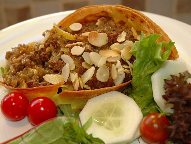 Bobotie (national dish) - South Africa