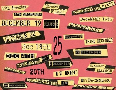 punk rock advent calendar