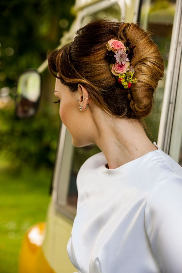 Get the Look Bridal Hair Trends 2015 - chignon #salonlofts #marryme
