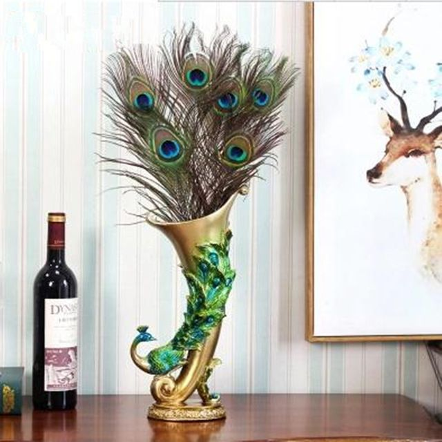 Павлин ваза, творческий Дом Мебель украшения, украшения офиса