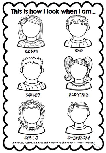 Exploring Emotions Worksheet from Miss Mac's Rockin Resources