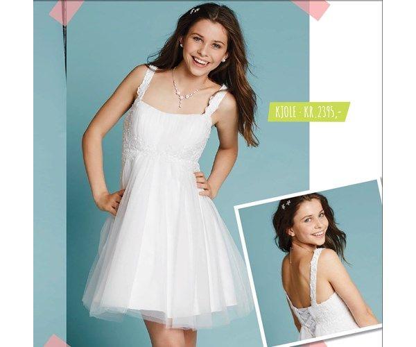Konfirmationskjole, Lilly, str. 34, Smuk Lilly kjole til