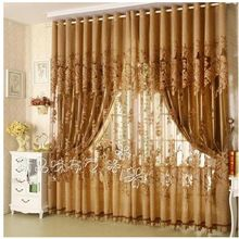 Modern Fashion High Quality Window Screening Curtain Finished Product Window Curtains Jacquard Curtains for Living Room(China (Mainland))