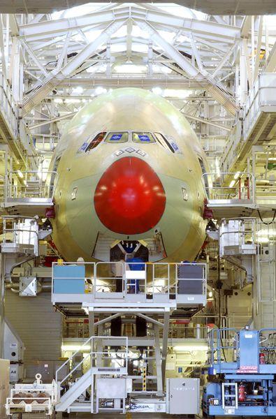 Découvrez l'assemblage de l'A380 © Airbus SAS #visiteztoulouse #toulouse #aircraft
