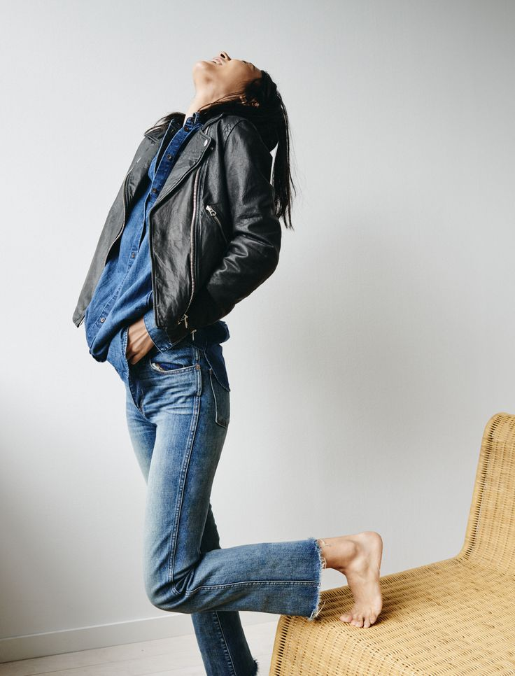 Motorcycle Style Jeans