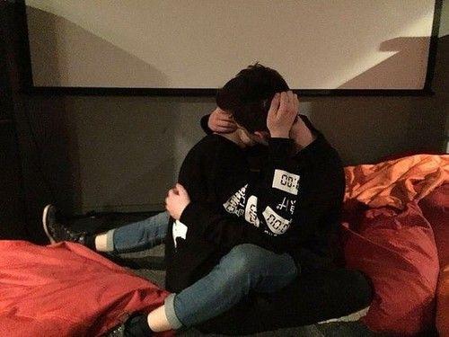 Imagem de couple, kiss, and love
