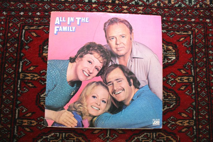 LAST CHANCE SALE. All In The Family Vinyl Lp Gatefold Record Album with Booklet. Rare 1971 Comedy Controversial Racial and Religious Jokes