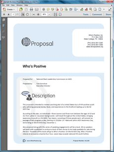 non profit support sample proposal the non profit support sample proposal is an