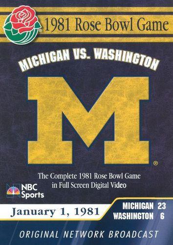 1981 Rose Bowl Game [DVD] [2005]