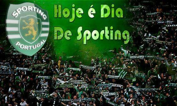 Hoje é dia do Sporting