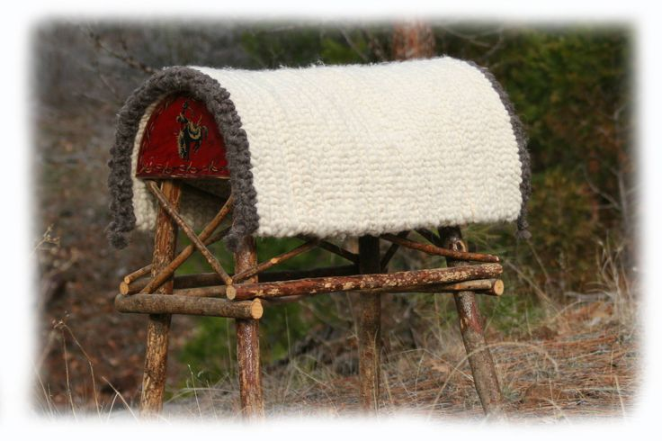 """Authentic """"Pulled Wool Saddle Pads"""" handmade traditionally much the same as a century ago.  From Merino wool and come in two sizes:  30"""" & 32"""" square.  The natural qualities of wool enhance this saddle pad by durable longevity; wicking moisture from the wet source to the dry source; antimicrobial, antibacterial and antifungal warding off the transmission of epidermal viruses."""