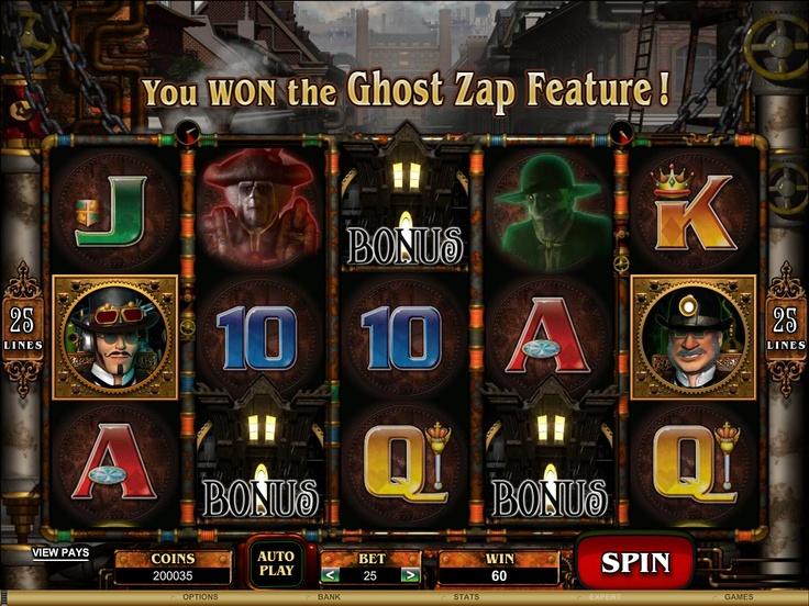 Phantom Cash @ http://www.crazyvegas.com/online-slots.aspx