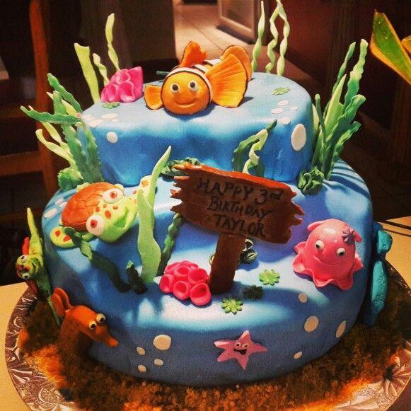 Finding Nemo cake I made