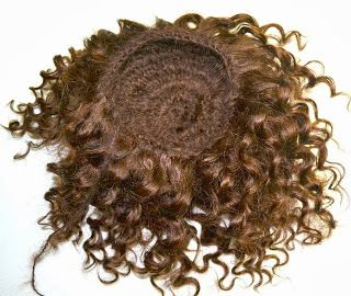 How to crochet a wig with weft mohair