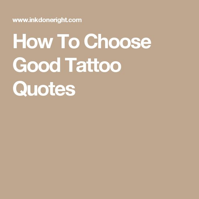 Tattoo Good Quotes: 1000+ Meaningful Tattoo Quotes On Pinterest